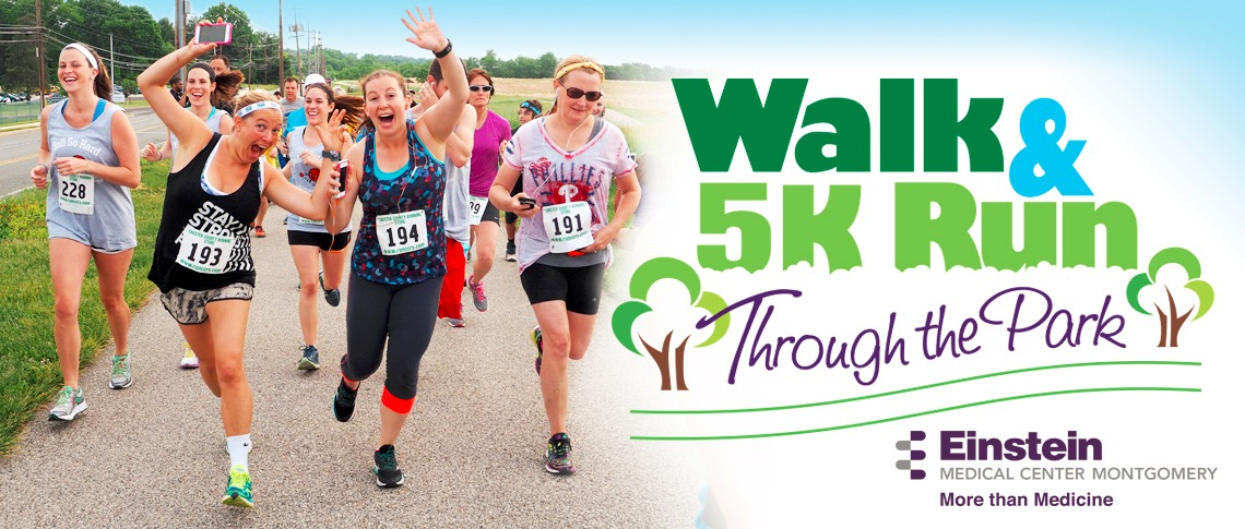2017 Walk and 5K Through the Park - Einstein Healthcare Network
