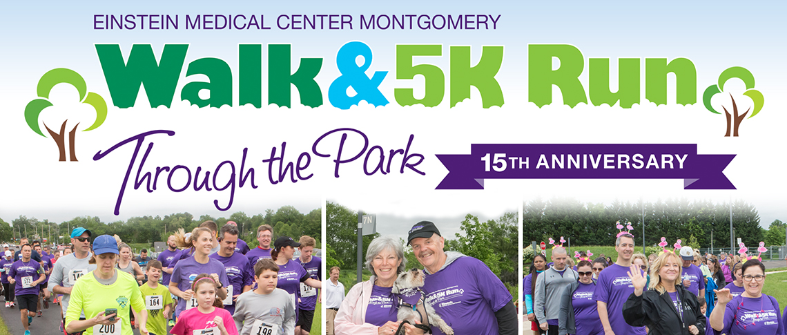 2018 Walk and 5K Run Through the Park - Einstein Healthcare